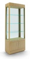 Витрина стеклянная с накопителем