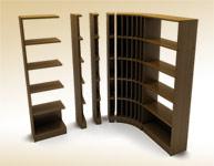 Стеллажи серии торговой мебели Лоза