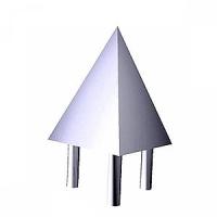 Пирамида наконечник для тройной трубы