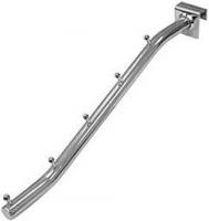 1433 С15 Кронштейн наклонный на прямоугольную трубу