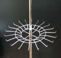 Круг 266 G от вешала для ремней с крючками хром
