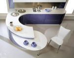 Столешница и стол из искуственного камня для кухни