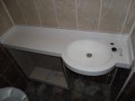 Столешница из искуственного камня под раковину для ванной комнаты