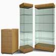 Стеклянные витрины и прилавки «Олимпия»
