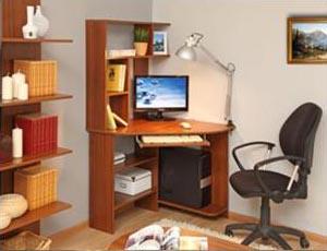 Компьютерные столы, полки и тумбы