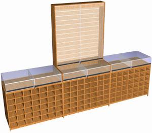Производство торговой мебели и витрин